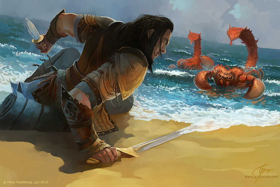 Illustration for Pathfinder Companion. © Paizo Publishing, LLC 2010