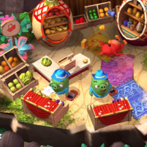 Concept Art for Angry Birds Holiday