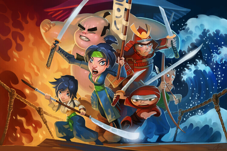 Key art for a Tower defence iOs game