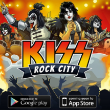 Key art for KISS Rock City