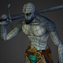 3D model of Pale Man