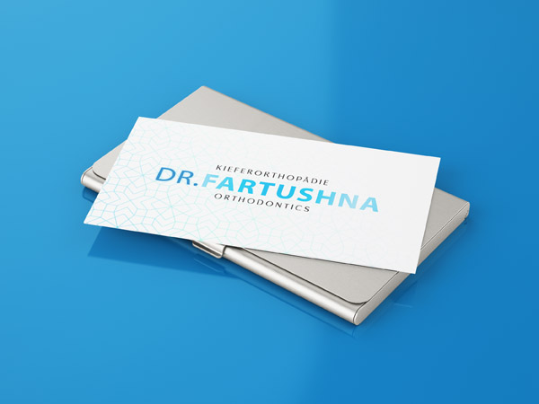 Business card design for Orthodontist