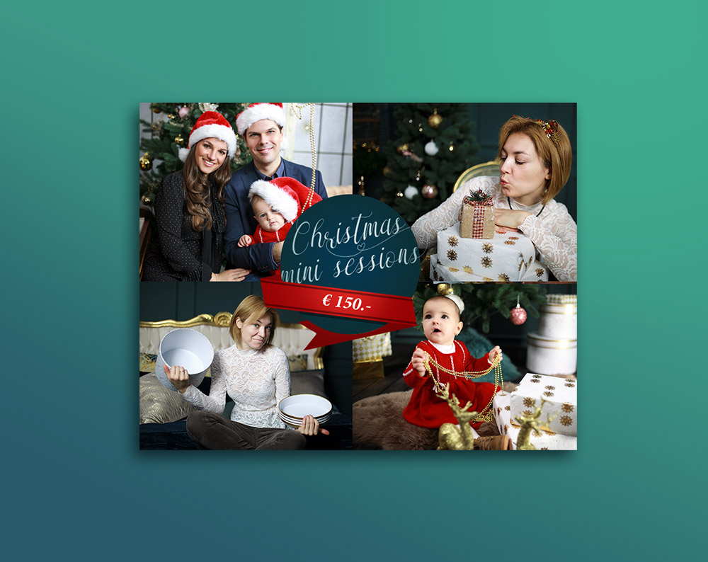 Christmas leaflet design