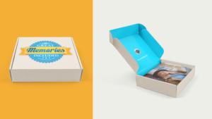 The box for photos