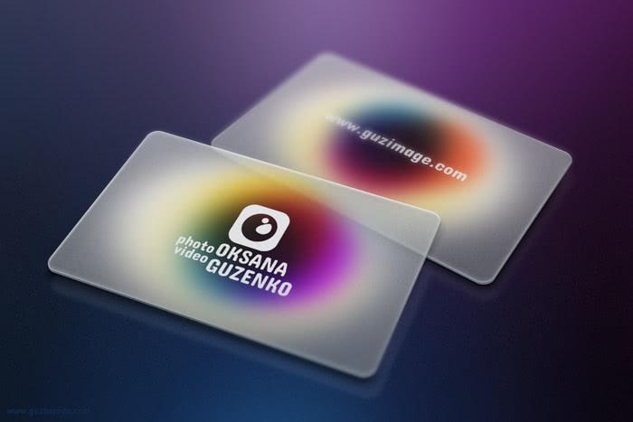 Business cards design for www.guzimage.com