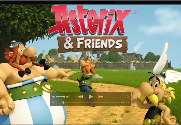 Concept art for Asterix & friends