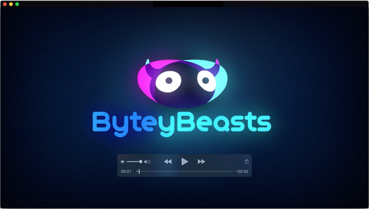 Motion design for ByteyBeasts