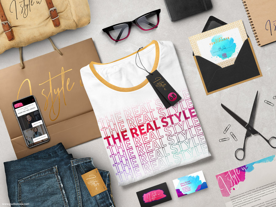Brand identity for a fashion company I STYLE U