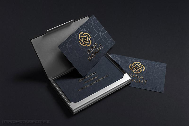 Business card for Irina Insight